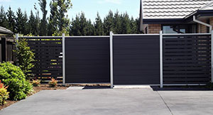 privacy composite fence