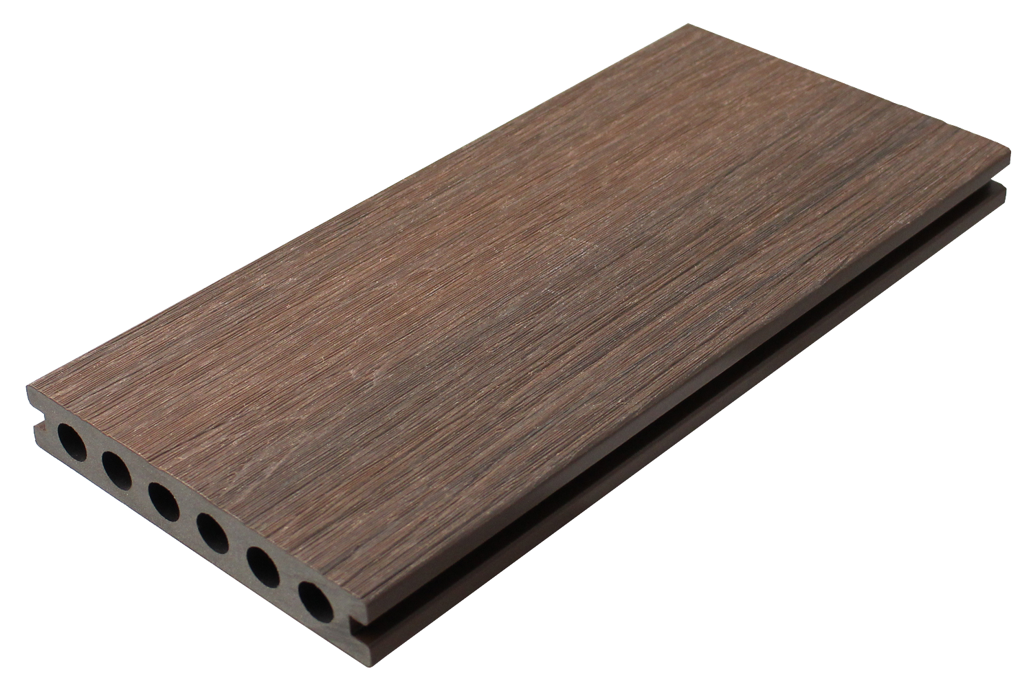 Composite Decking Panels : Composite decking board walnut wood eco life products